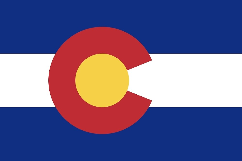 Colorado Flag by JohnnyKat