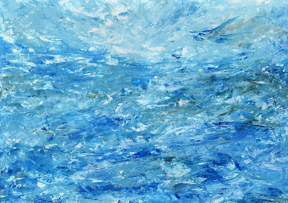 Abstract Water #1 by Kate Chesters