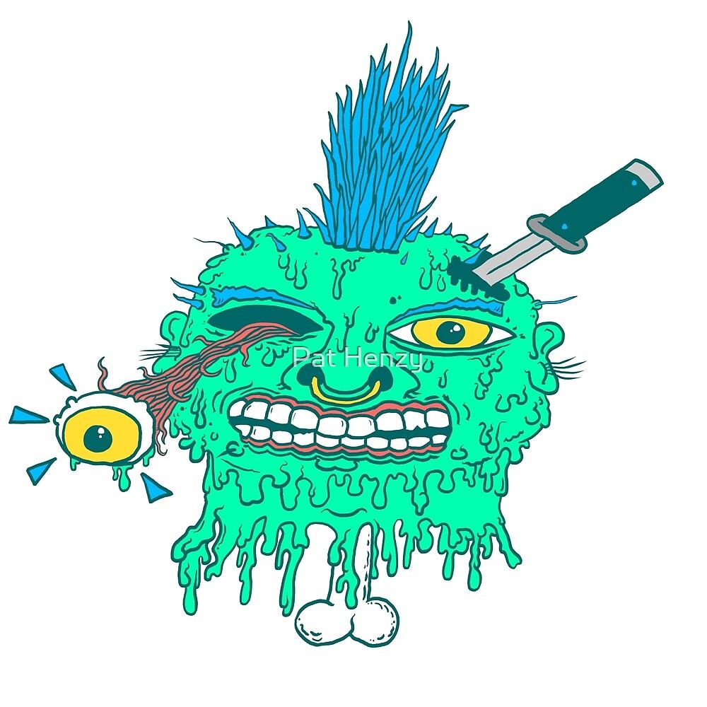 Punk Head Pete by Pat Henzy