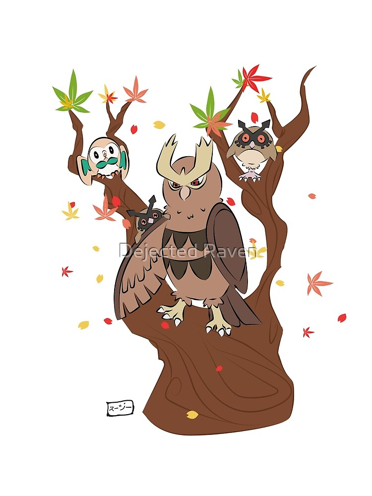 Noctowl tree by Goldarcanine