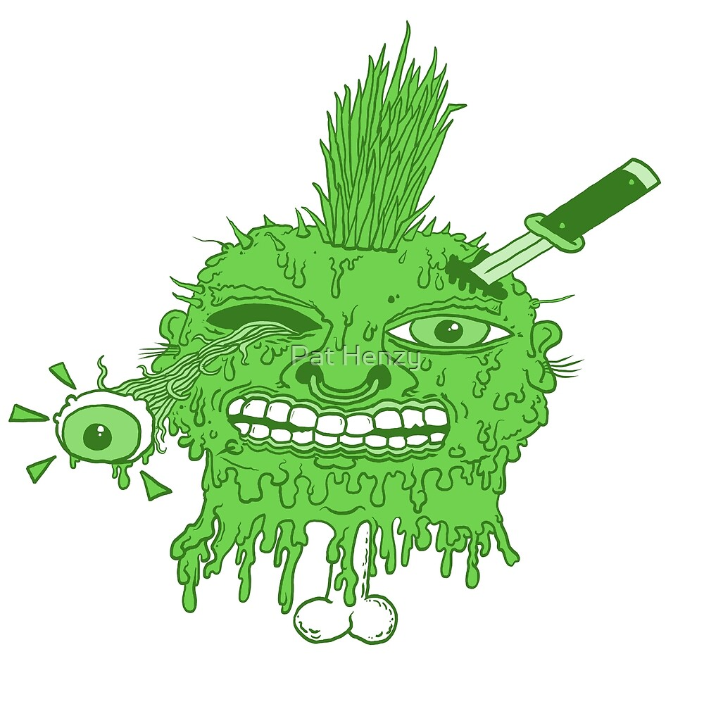 Punk Head Pete Varient 3 by Pat Henzy