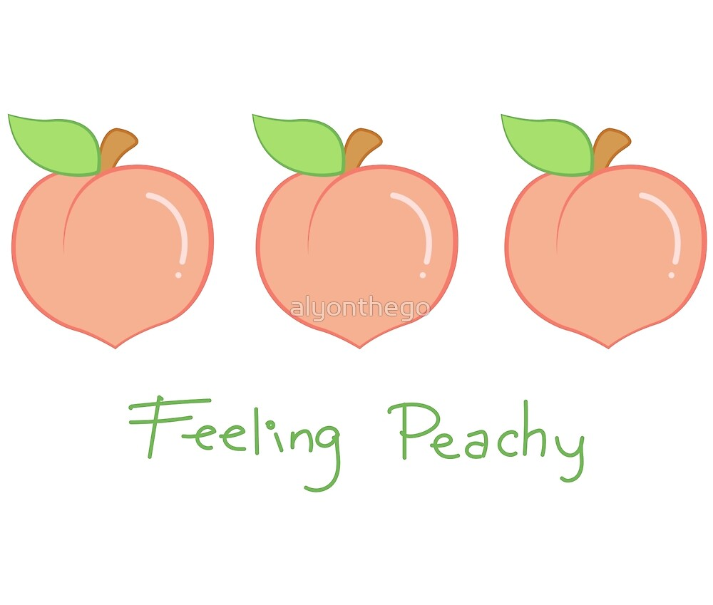 FEELING PEACHY (Left-handed) by alyonthego