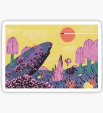 Alien Planet Sticker