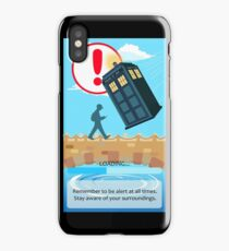 STAY AWARE OF YOUR SURROUNDINGS  iPhone Case/Skin