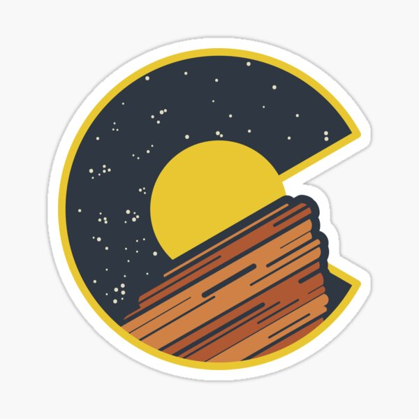 Red Rocks Colorado  Sticker