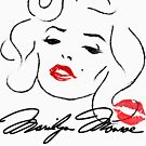 Marilyn Monroe - Norma Jean Baker  by HomeTimeArt