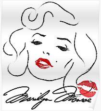 Marilyn Monroe - Norma Jean Baker  Poster