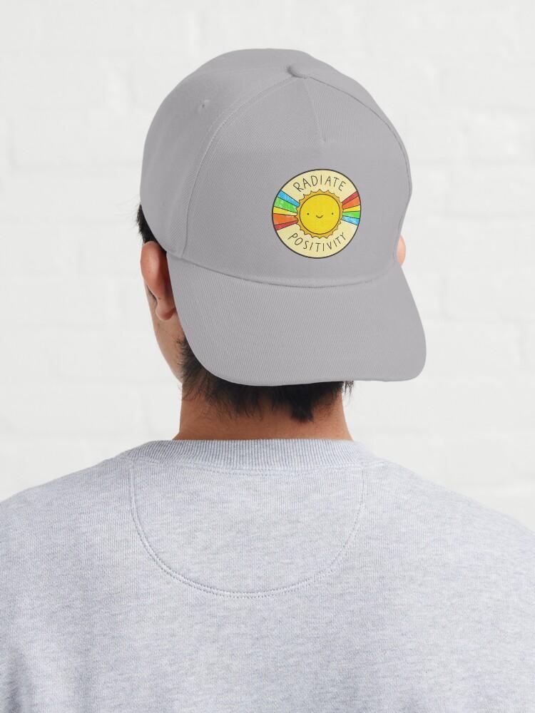 Alternate view of Radiate Positivity Cap