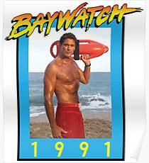 Mr. Baywatch Poster