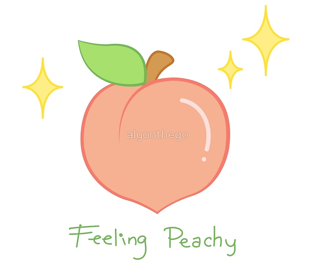 Feeling Peachy & Sparkly (Left-handed) by alyonthego