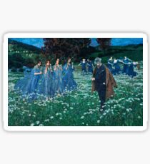 Maximilian Lenz - A World (1899)  Sticker
