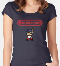 Benintendi sprite Women's Fitted Scoop T-Shirt