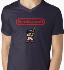 Benintendi sprite Men's V-Neck T-Shirt