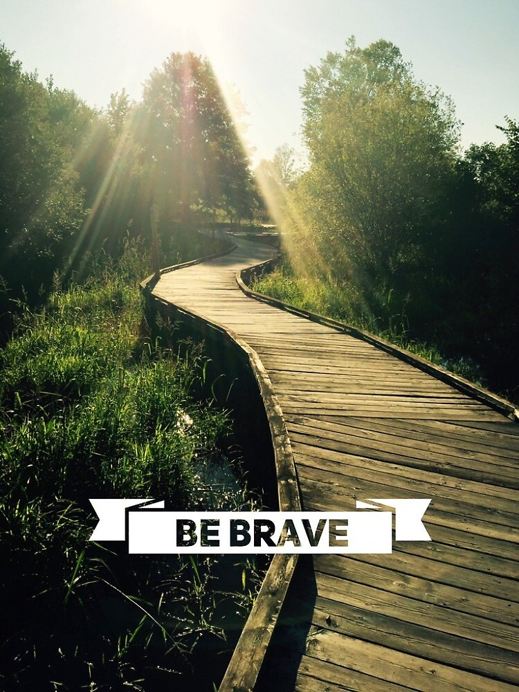 Be Brave by Haywireartist