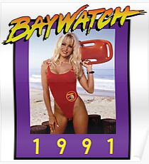 Misses Baywatch Poster