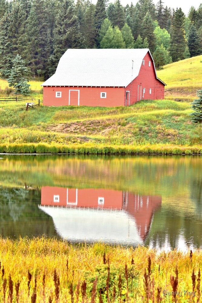 Red Barn by Danny Key