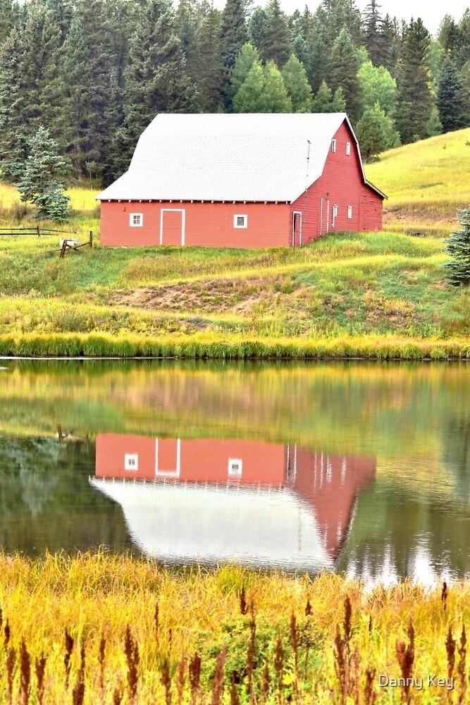 Red Barn by Danny Key