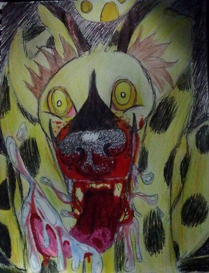 Mad Hyena by worldx6