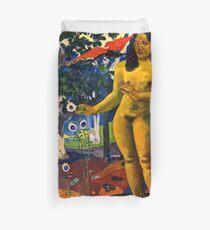 Paul Gauguin - Delightful Land (Te Nave Nave Fenua) (1892)  Duvet Cover