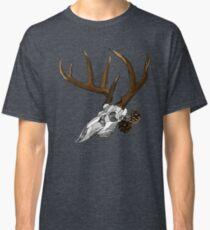 Whitetail Buck Skull Classic T-Shirt