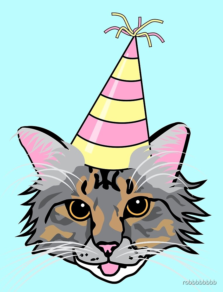Party Cat by robbbbbbbb