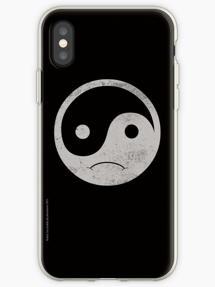 yin yang smiley by frederic levy-hadida