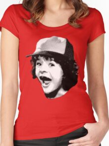 Stranger Things - Dustin Women's Fitted Scoop T-Shirt