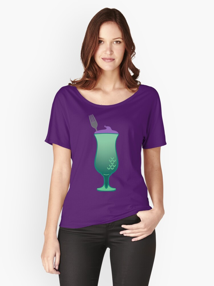 Wish Upon a Bar - Mermaid Daiquiri Women's Relaxed Fit T-Shirt Front