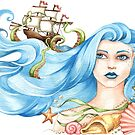 Queen of the Sea by LCWaterworth