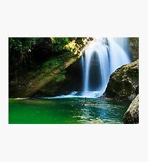 Sum Waterfall in Vintgar Gorge, near Bled, Slovenia. Photographic Print