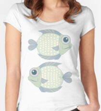Two Cool Fish Women's Fitted Scoop T-Shirt