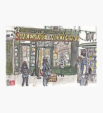 Shakespeare & Co. in Paris Photographic Print