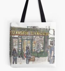Shakespeare & Co. in Paris Tote Bag