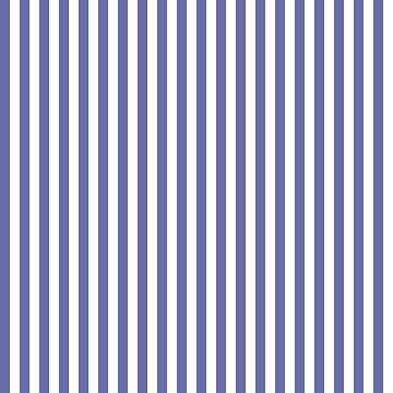 Twilight Blue and White Stripes Pattern by CircusValley