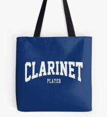 Clarinet Player Tote Bag