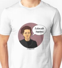 Funny science Marie Curie T-Shirt