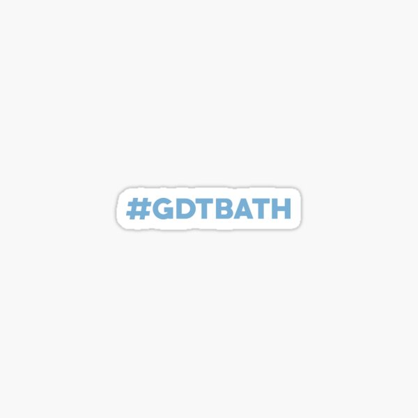 Great Day to be a Tar Heel #GDTBATH Sticker