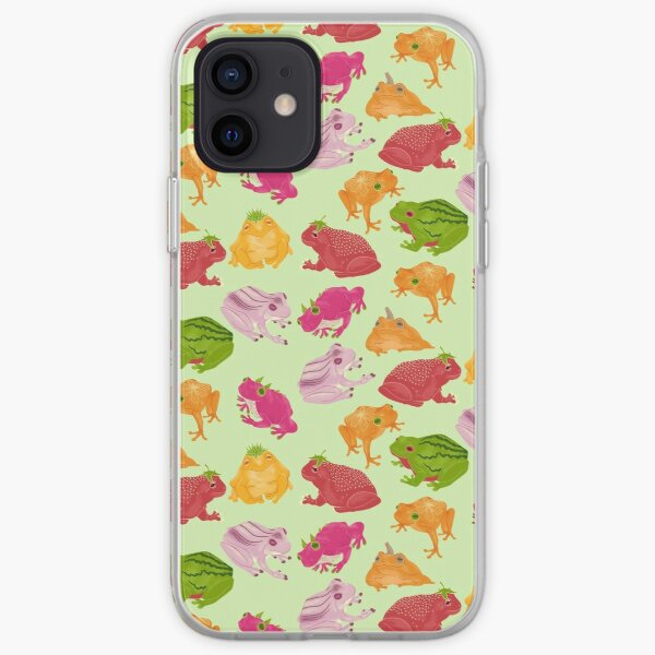 Fruity Frogust 2021 iPhone Soft Case