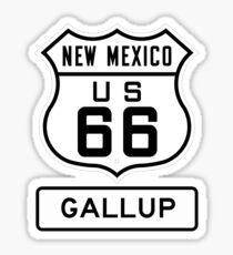 Route 66 - The Mother Road - Gallup New Mexico Sticker