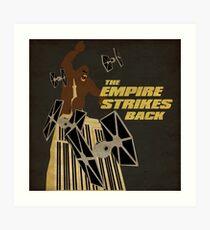 The Empire Strikes Back Art Print