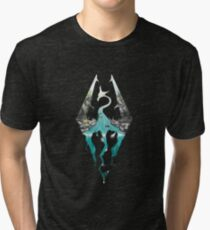 SKYRIM! Tri-blend T-Shirt