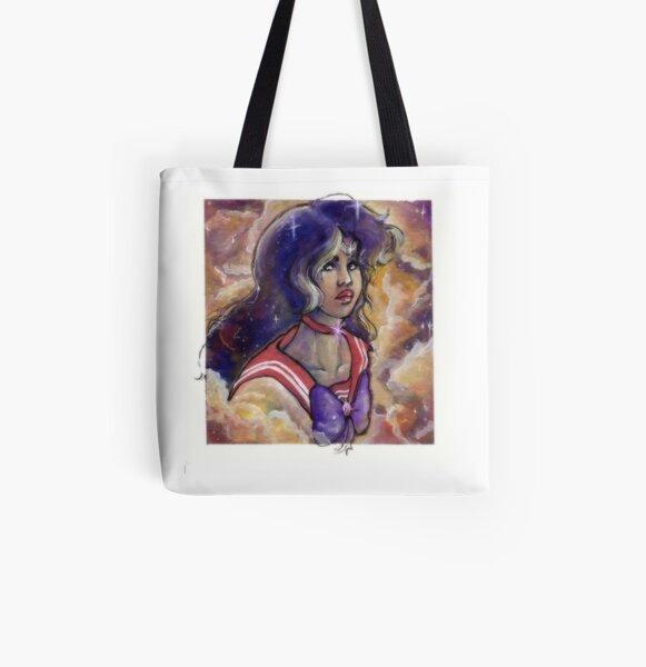 SS Watercolor Series - Mars All Over Print Tote Bag