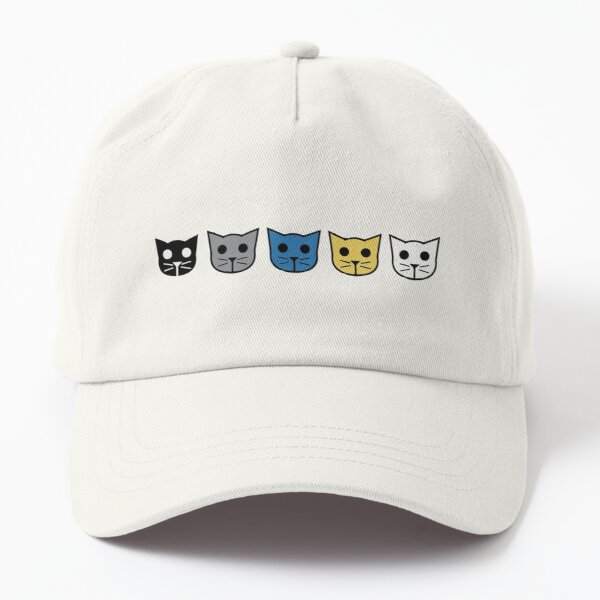 meow meow beenz - community Dad Hat
