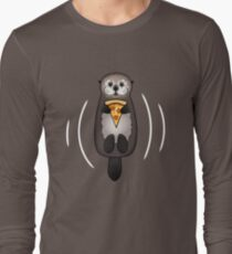 Sea Otter with Pizza T-Shirt