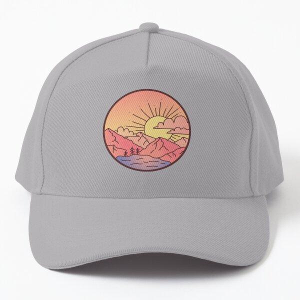 Sunset Mountains Baseball Cap