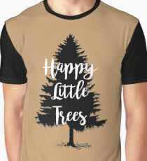 Happy Little Trees (Bob Ross) Graphic T-Shirt