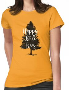 Happy Little Trees (Bob Ross) Womens Fitted T-Shirt