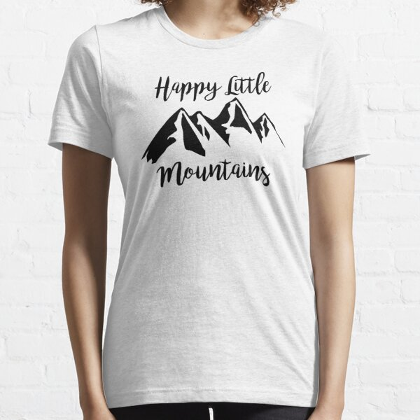 Happy Little Mountains Essential T-Shirt