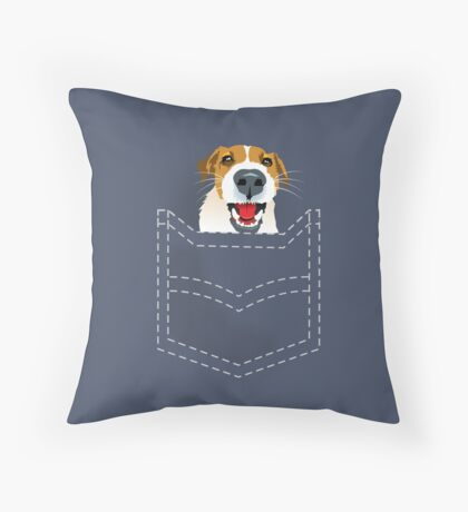 Harry in pocket Throw Pillow