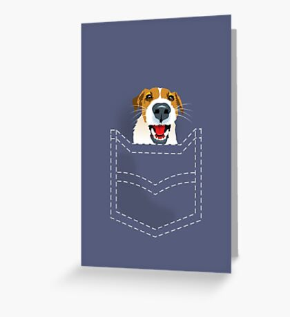 Harry in pocket Greeting Card